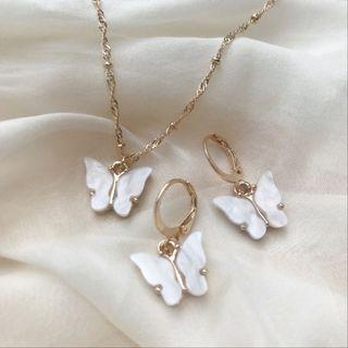 🤍White Butterfly Set🤍