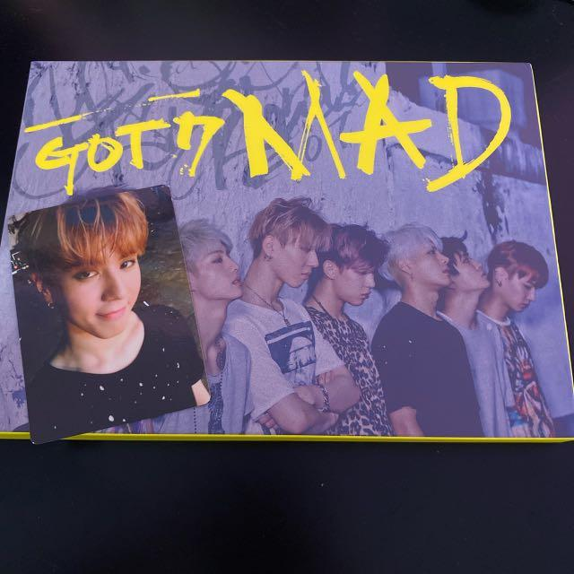 WTS Official Got7 Mad Album and Yugyeom Photocard