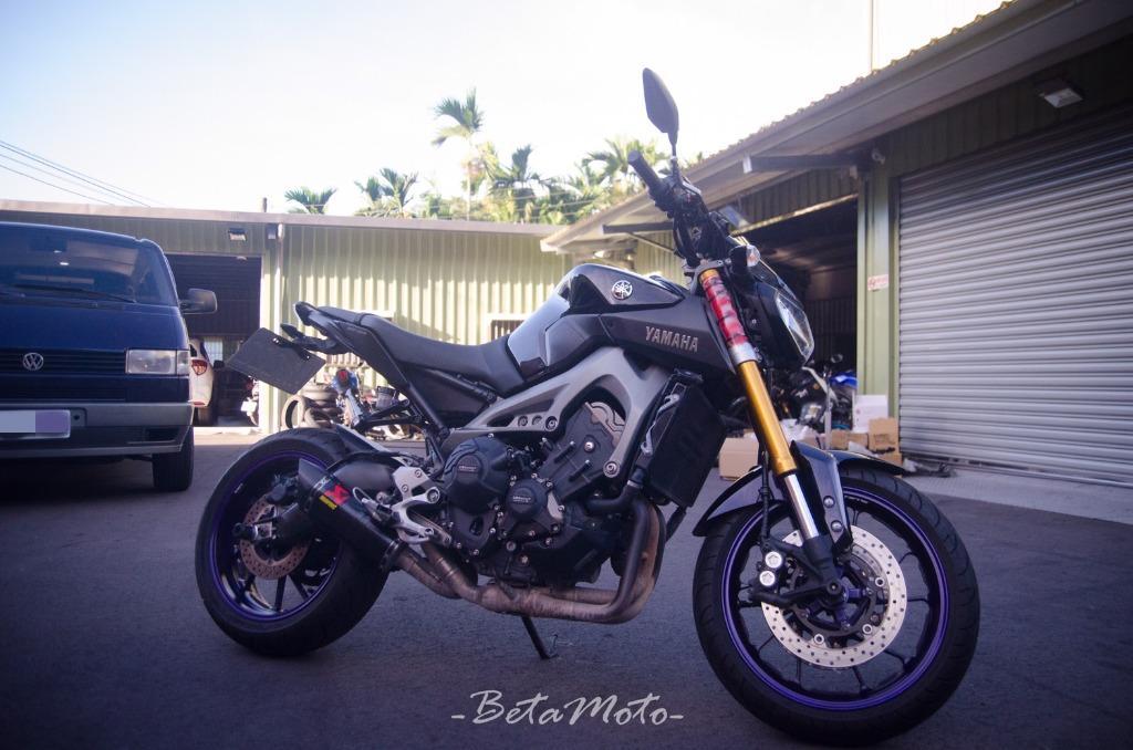 Yamaha MT-09 送Gears避震器