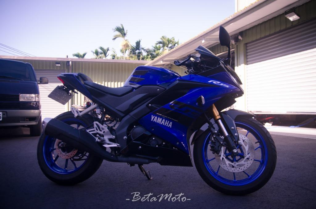 Yamaha R15v3 藍金倒叉 全原廠