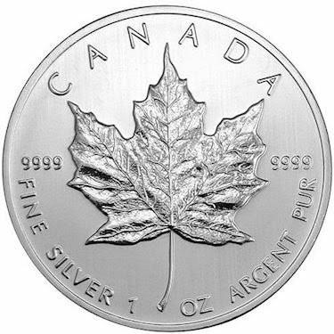 2013 Canada Maple Leaf 1 oz Silver BU From Mint Sealed Tube