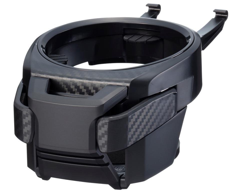 權世界@汽車用品 日本SEIKO 碳纖紋多功能冷氣孔飲料架 置物架 手機飲料架 EB-211