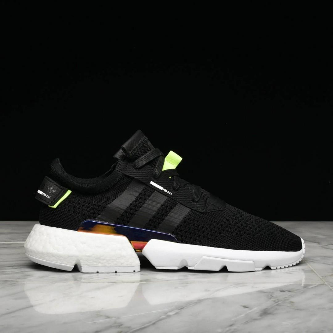 despreciar Atajos Empeorando  Adidas POD-S3.1 / BLACK, Men's Fashion, Footwear, Sneakers on Carousell