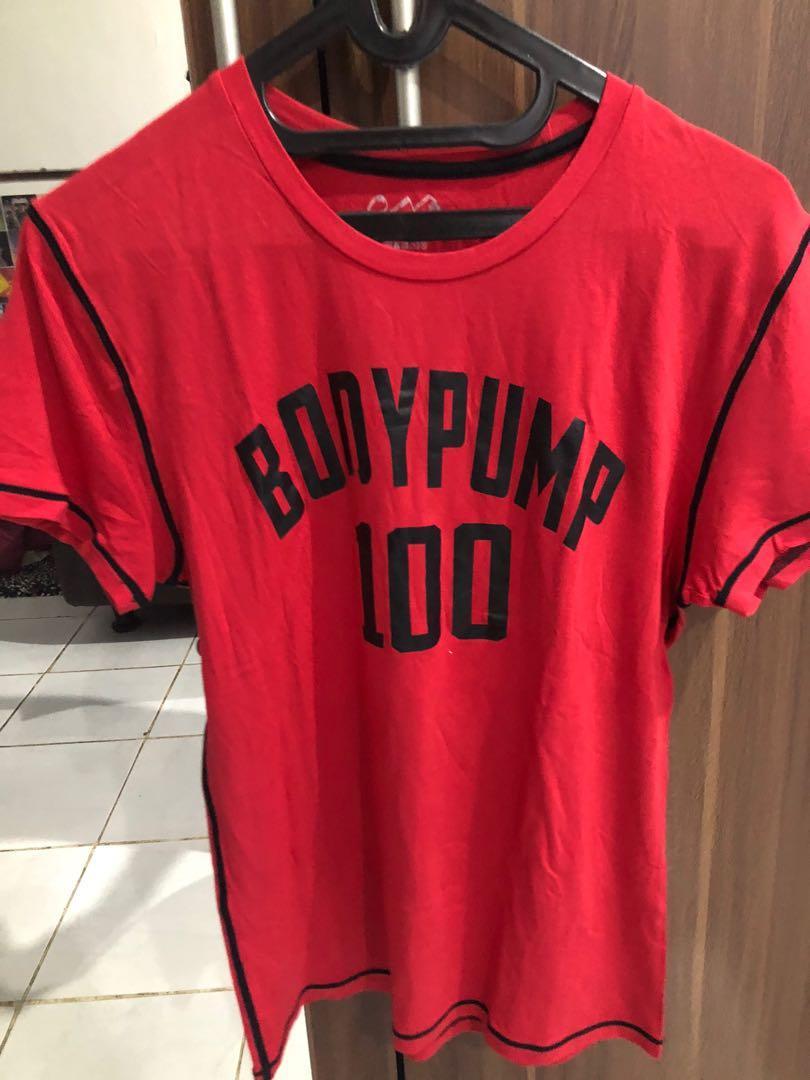 Baju olahraga (bodypump)