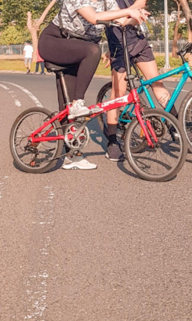 🚫 Bike Colony Red