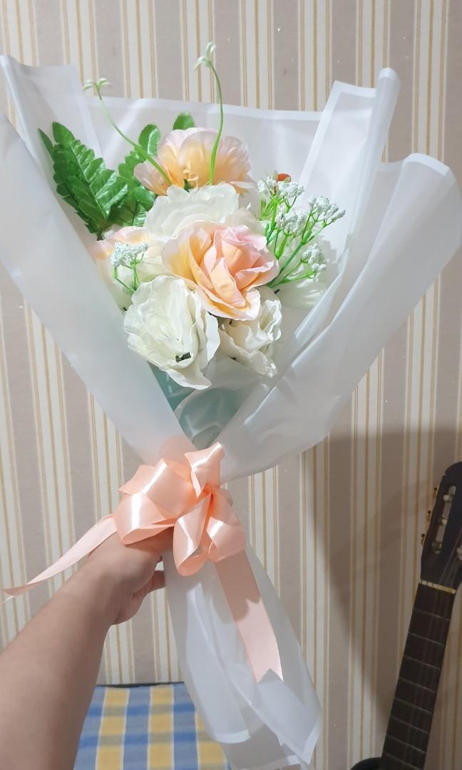 Bunga bouqet bunga palsu flowers bouqet