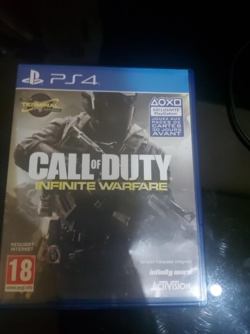 Call of duty  Infinite warfare ps4 second