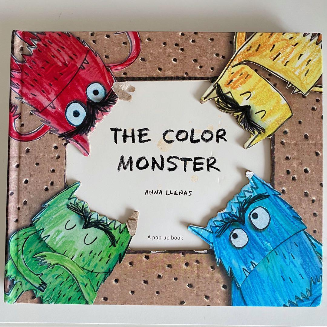 Children S Book The Colour Monster 3d Books Stationery Children S Books On Carousell