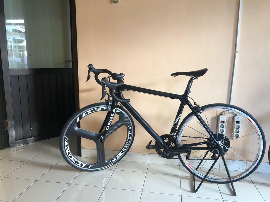 Dijual sepeda full carbon merk orbea size 50