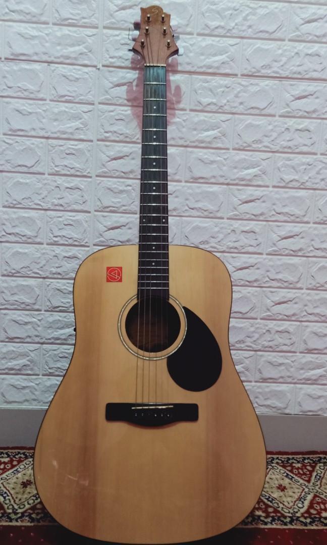 Gitar Akustik elektrik samic