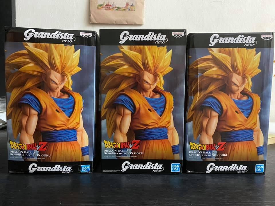Banpresto Dragonball Grandista Nero Super Saiyan 3 Son Goku SS3 Oversea Limited