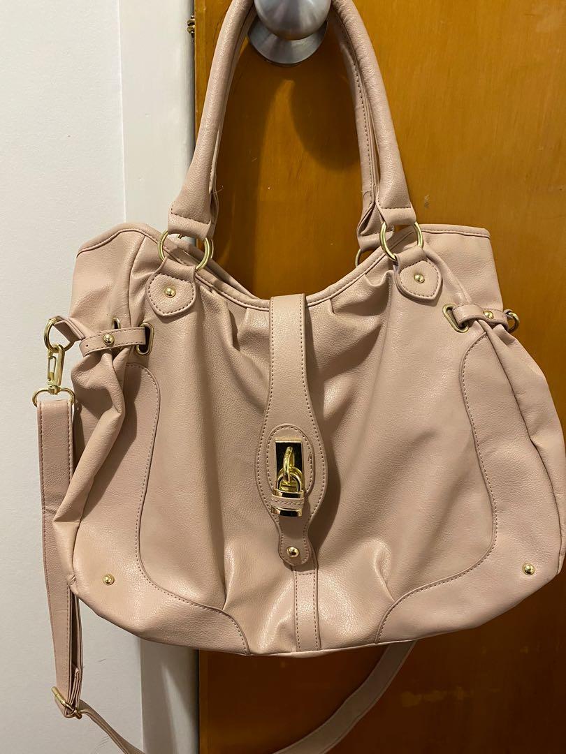 Hand bag baby pink