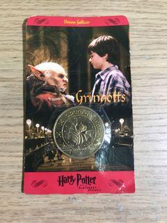 哈利波特 20年經典老物  電影錢幣Harry Potter