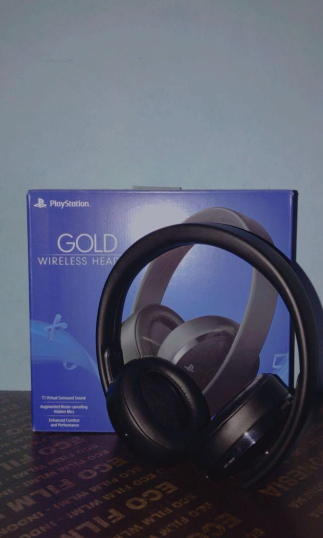 Headphone Gold Sony
