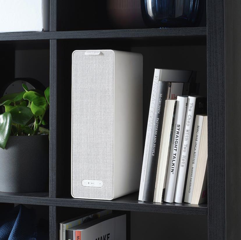 Ikea SYMFONISK WiFi bookshelf speakers in White & Black