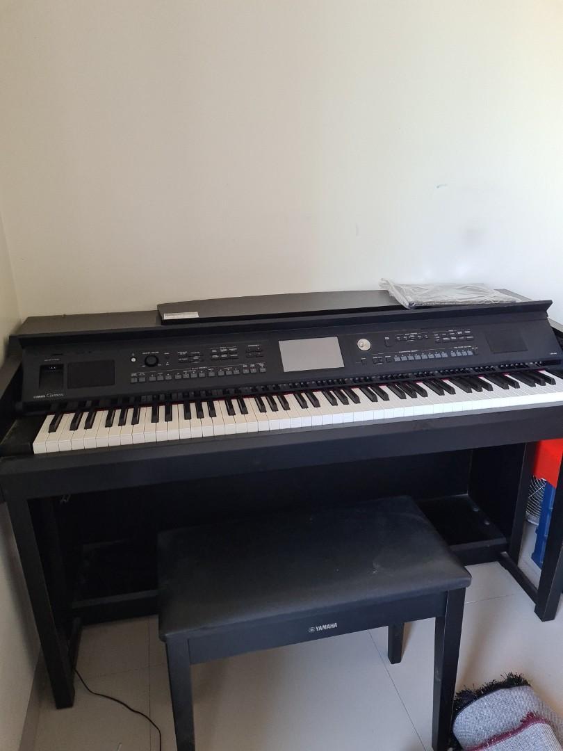 JUAL CEPAT : Piano Yamaha Clavinova CVP-605