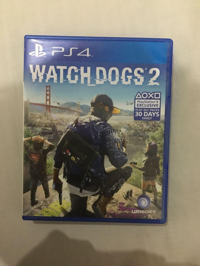 Kaset PS4 Watch Dogs 2