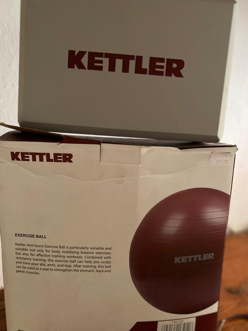 Kettler gymball + balok