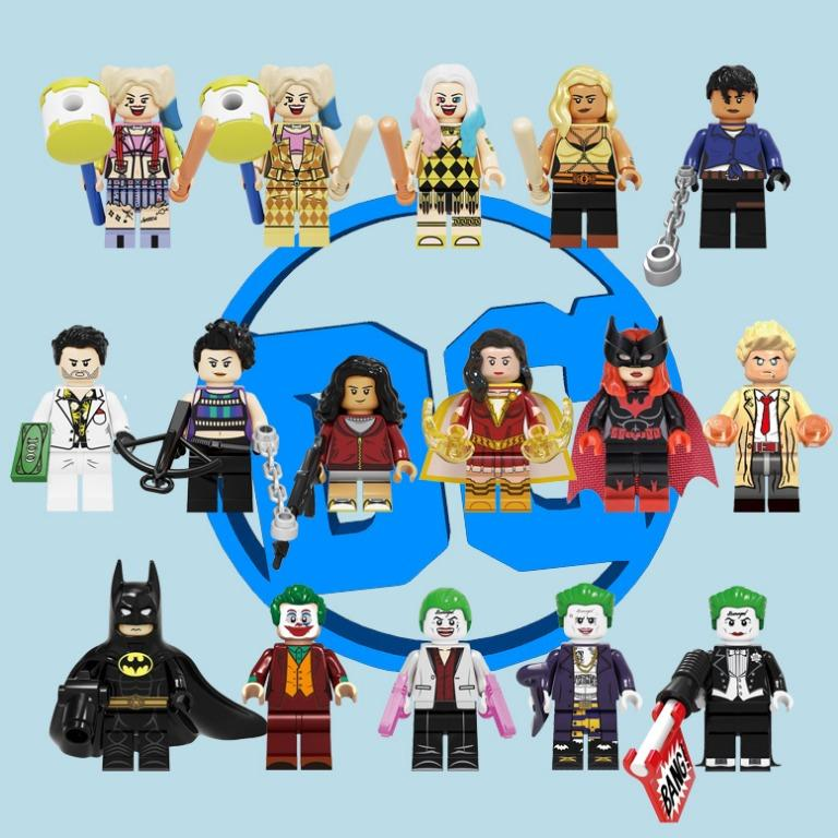 Lego Like Dc Dceu Arrowverse Birds Of Prey Joker Batwoman Constantine Batman 1989 16 Figures Toys Games Toys On Carousell