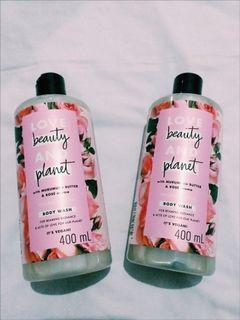 Love Beauty and Planet Majestic Glow Body Wash 400ml