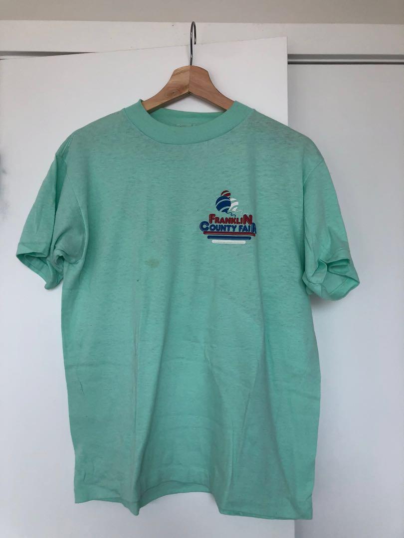 Ming Green Vintage Logo Shirt