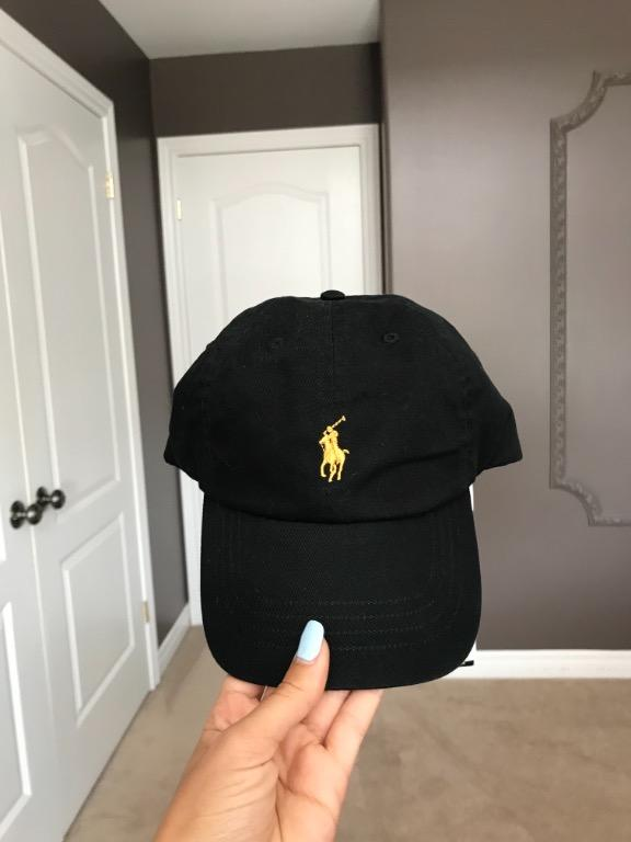 Polo Gold Pony Black Baseball Cap