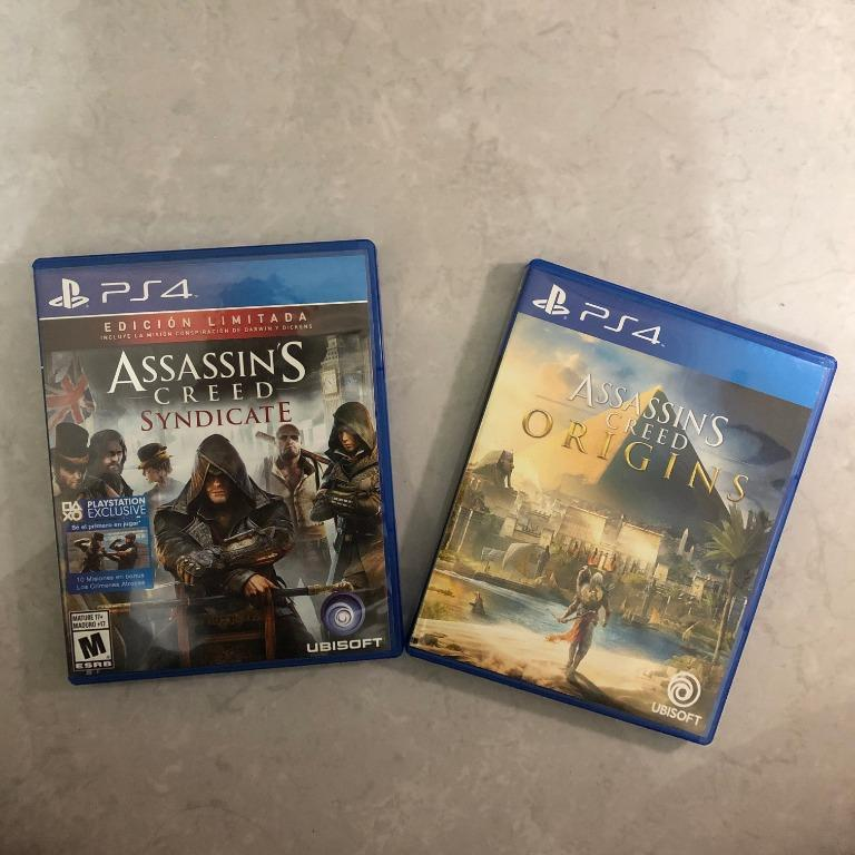 PS4 Game - Assassin's Creed Origins & Syndicate