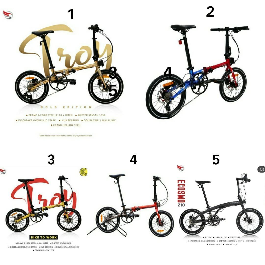 Sepeda Lipat Element Troy