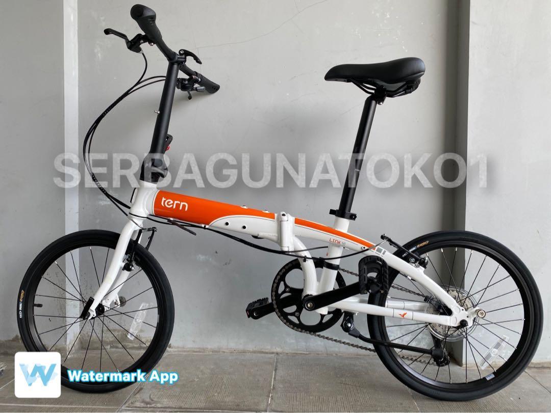 Sepeda Lipat TERN LINK N8 20 inch WHITE