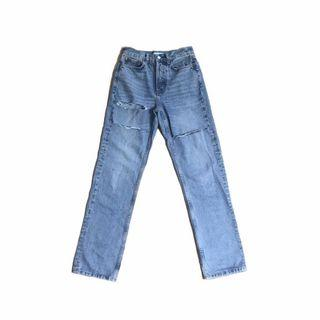 Topshop Dad Ripped Jeans