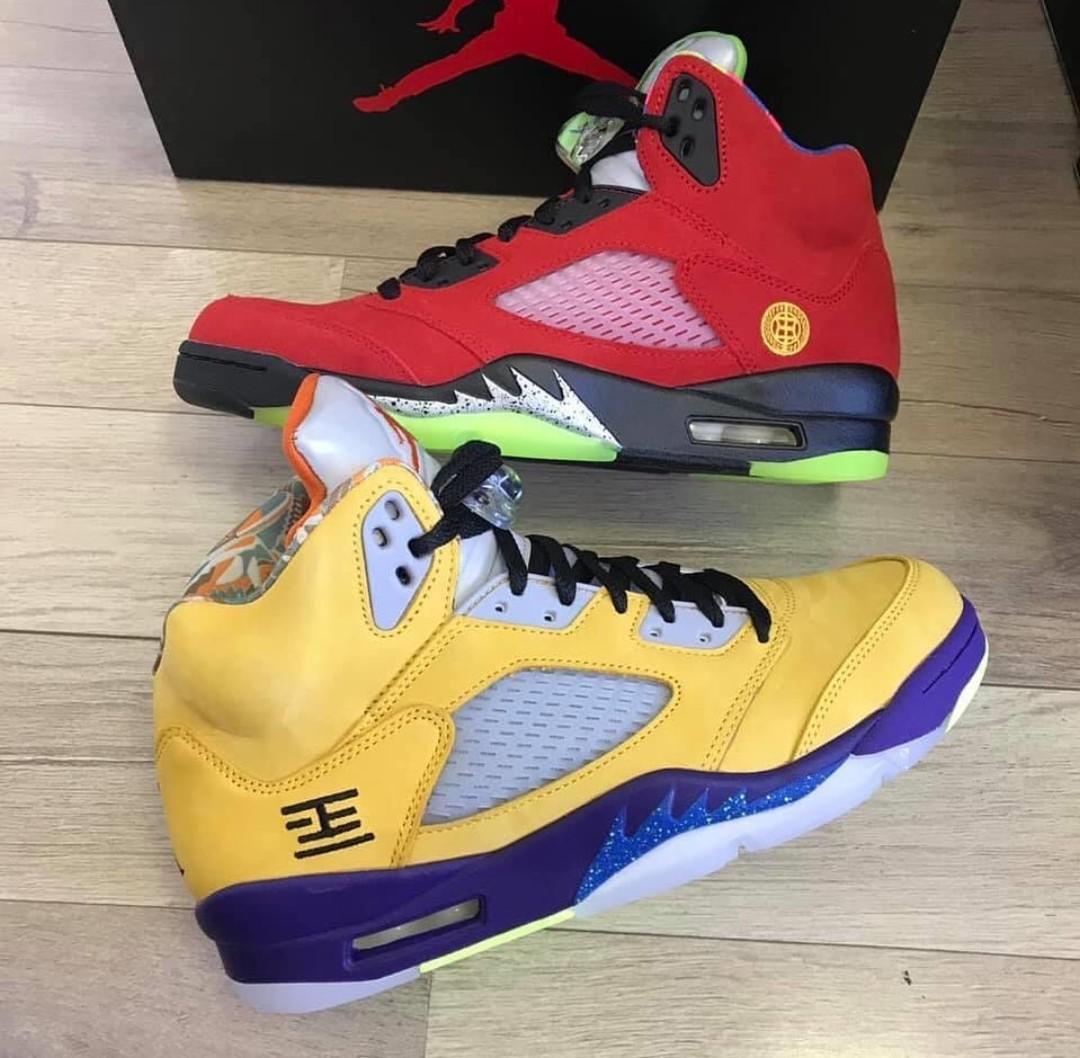 """""""what the"""" Jordan 5s"""