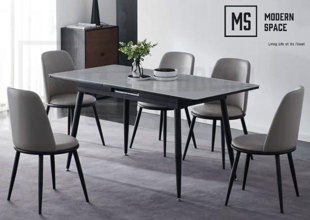 Willa Modern Extendable Dining Table Dbst78 Furniture Tables Chairs On Carousell