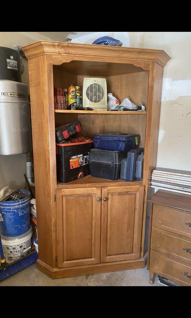 Wooden closet / tv stand
