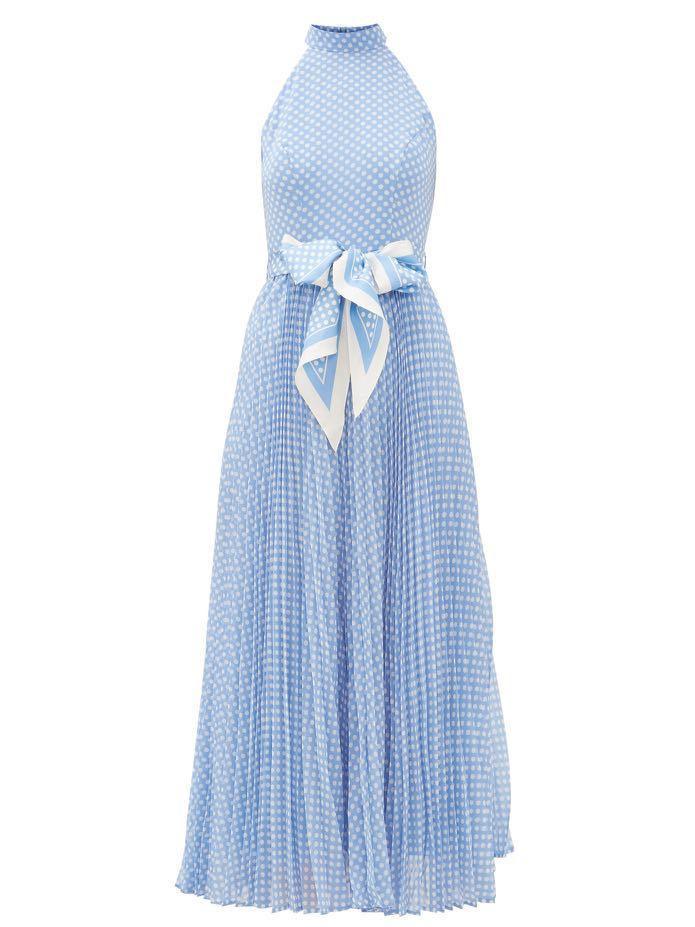 Zimmer satin Sunday picnic dress