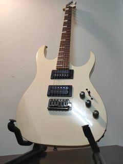 Zing 白色 電 吉他  新手 入門