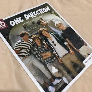 1D One Direction Original Merch Book