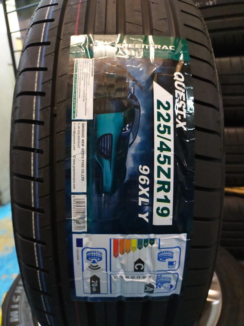 "225/45r19"" Greentrac UHP Quest-x"