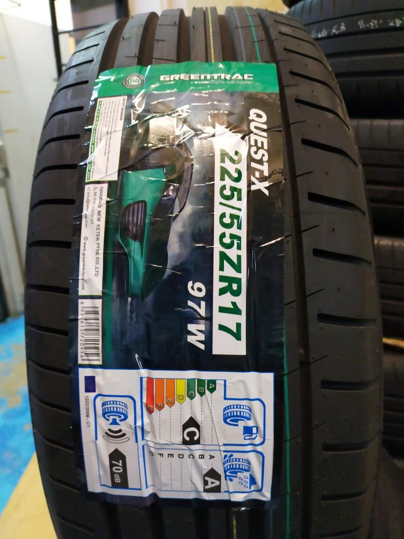 """225/55r17"""" Greentrac UHP Quest-x"""