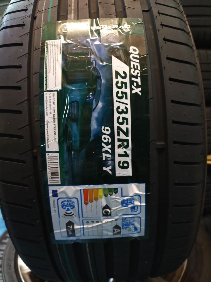 """255/35r19"""" Greentrac UHP Quest-x"""