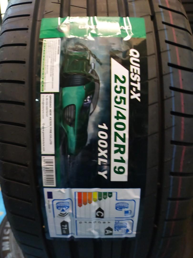 """255/40r19"""" Greentrac UHP Quest-x"""