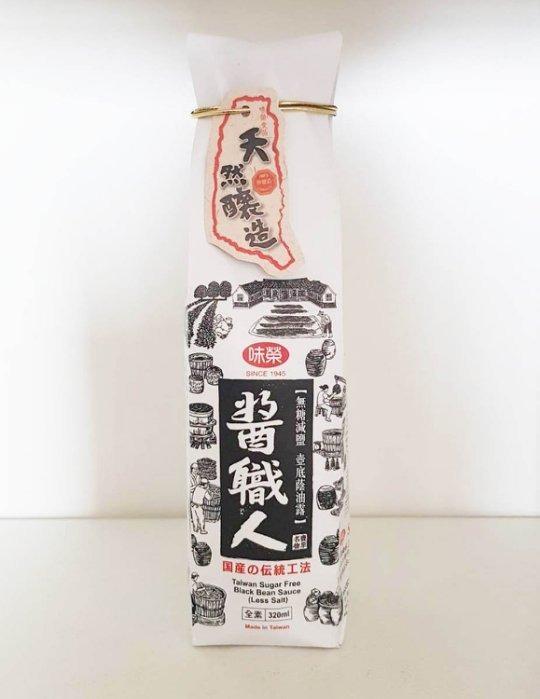 無糖添加減鹽國產黑豆蔭油露(320ml)~味榮