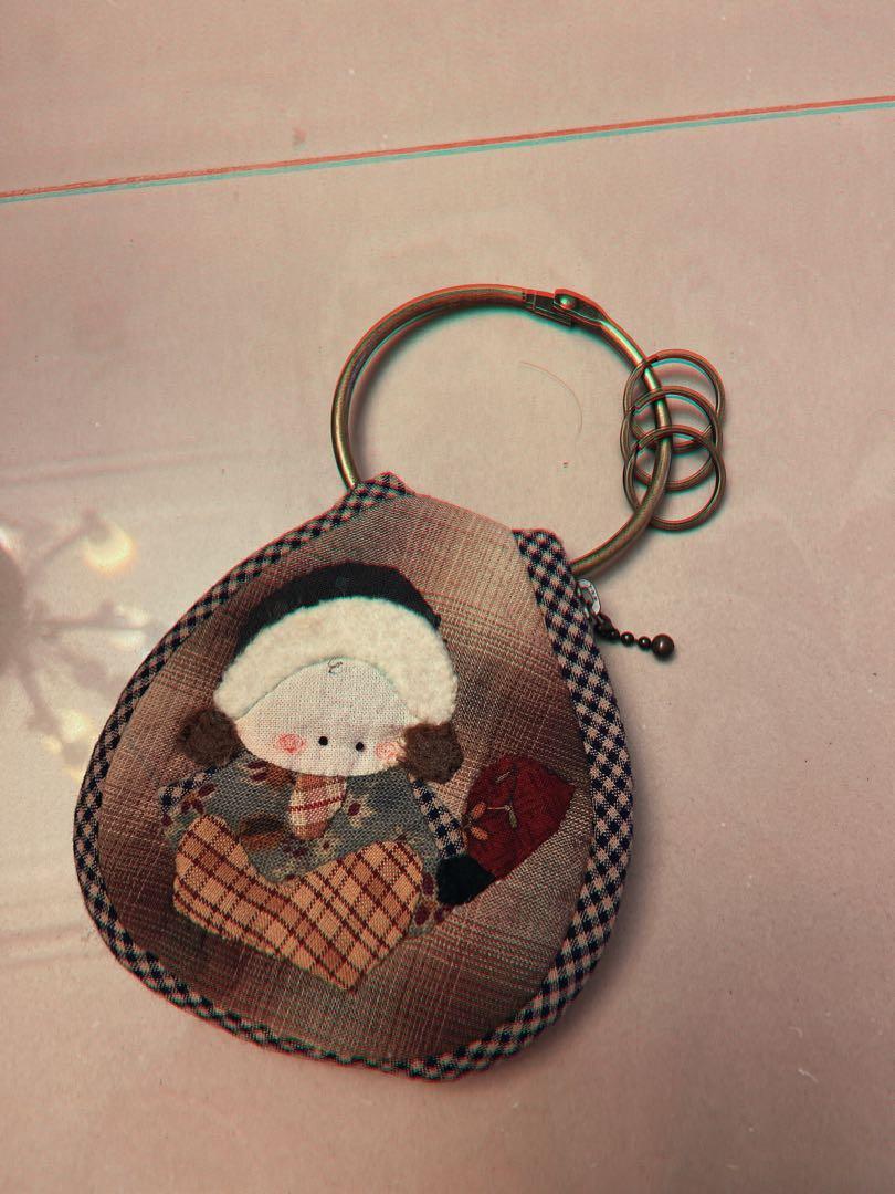 手作鑰匙包(可放 吊鑰匙🔑)