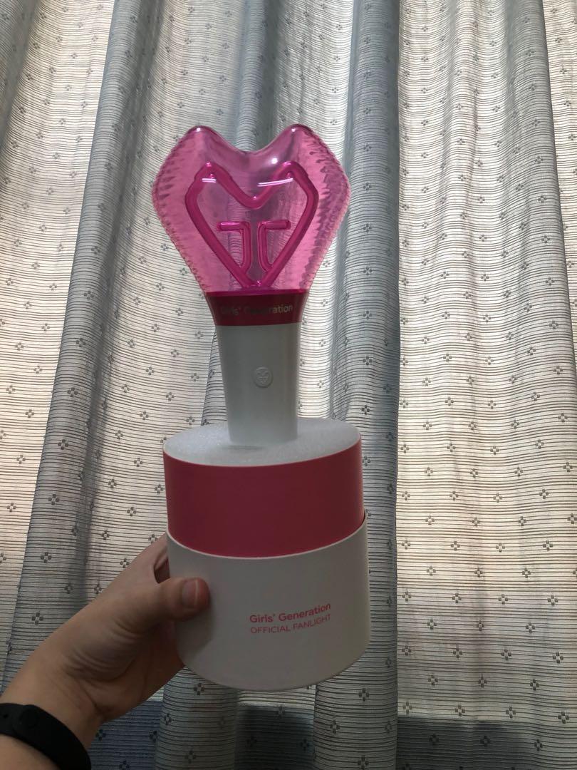 少女時代 girls' generation 手燈 official fanlight