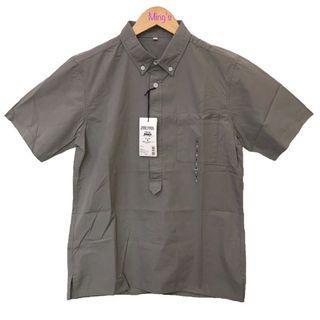 無印良品 MUJI Labo 有機棉平織布 短袖套衫