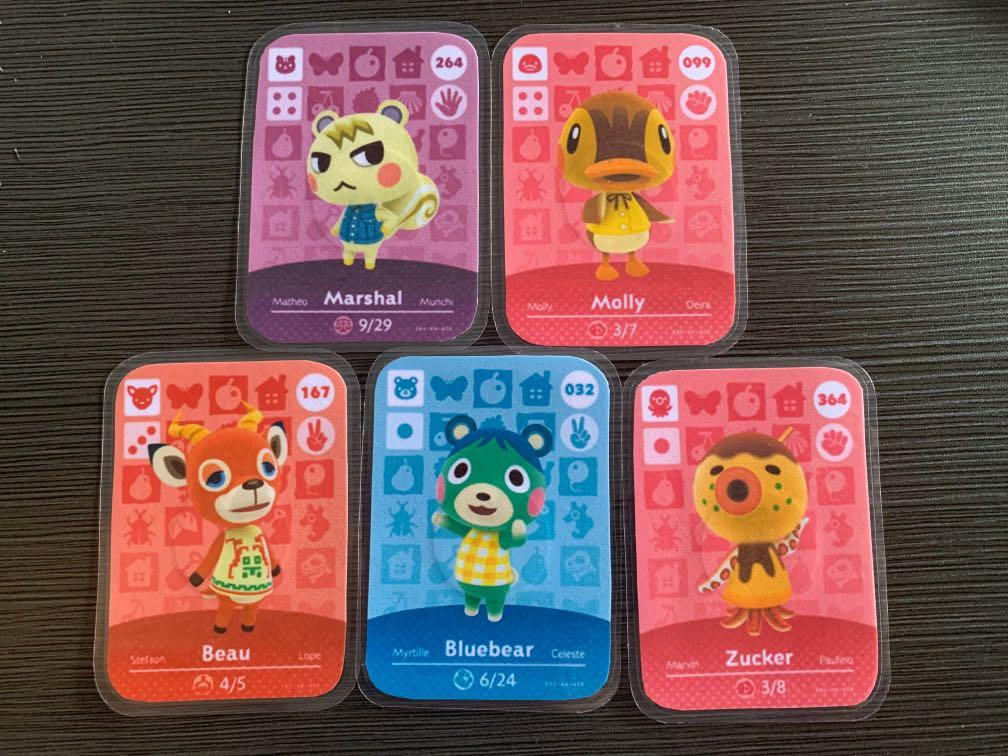 Amiibo Animal Crossing New Horizons (Villagers)