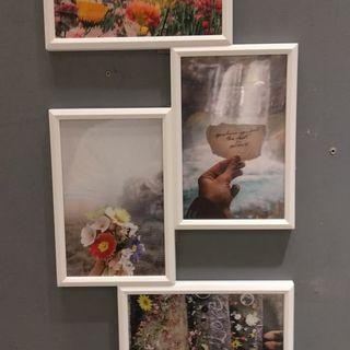Bingkai Frame Photo Kolase 4R IKEA YLLEVAD Murah
