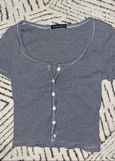 BRANDY MELVILLE striped zelly top