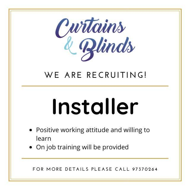 Curtains And Blinds Installer