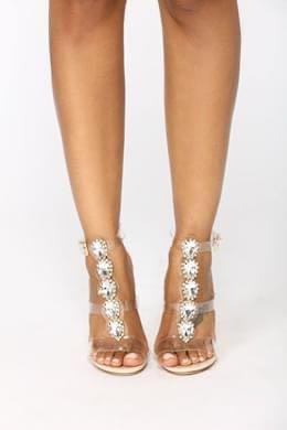 Fashionnova Rhinestone Heel