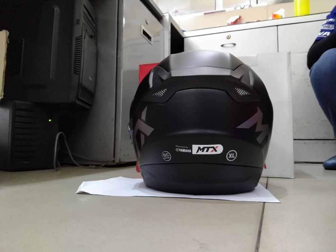 Helmet helm original YAMAHA MTX (XL)